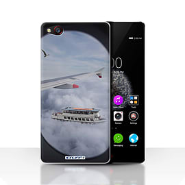 STUFF4 Case/Cover for ZTE Nubia Z9 / Cloudspotting Design / Imagine It Collection Mobile phones