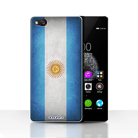 STUFF4 Case/Cover for ZTE Nubia Z9 / Argentina/Argentinean Design / Flags Collection Mobile phones