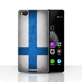 STUFF4 Case/Cover for ZTE Nubia Z9 / Finland/Finnish Design / Flags Collection Mobile phones