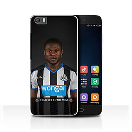 Official Newcastle United FC Case/Cover for Xiaomi Mi5/Mi 5/Mbemba Design/NUFC Football Player 15/16 Mobile phones