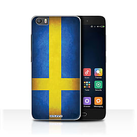 STUFF4 Case/Cover for Xiaomi Mi5/Mi 5 / Sweden/Swedish Design / Flags Collection Mobile phones