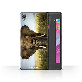 STUFF4 Case/Cover for Sony Xperia X Performance / Elephant Design / Wildlife Animals Collection Mobile phones