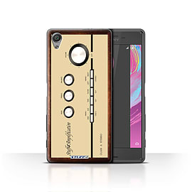 STUFF4 Case/Cover for Sony Xperia X / Amp/Amplifier Design / Retro Tech Collection Mobile phones