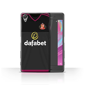 Official Sunderland AFC Case/Cover for Sony Xperia X/Goalkeeper Design/SAFC Away Shirt/Kit 15/16 Mobile phones
