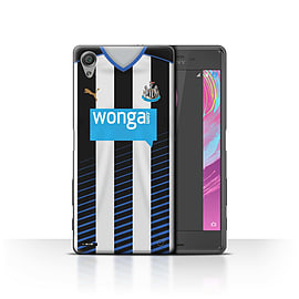 Official NUFC Case/Cover for Sony Xperia X Performance/Footballer Design/NUFC Home Shirt/Kit 15/16 Mobile phones
