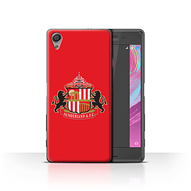 Official Sunderland AFC Case/Cover for Sony Xperia X Performance/Red Design/SAFC Football Club Crest Mobile phones