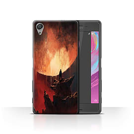 Official Chris Cold Case/Cover for Sony Xperia X Performance/Melting Sun Design/Alien World Cosmos Mobile phones