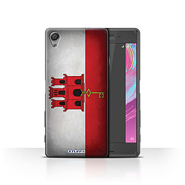 STUFF4 Case/Cover for Sony Xperia X Performance / Gibraltar/Gibraltarian Design / Flags Collection Mobile phones
