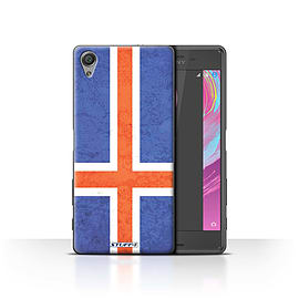 STUFF4 Case/Cover for Sony Xperia X Performance / Iceland/Icelandic Design / Flags Collection Mobile phones