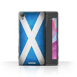 STUFF4 Case/Cover for Sony Xperia X / Scotland/Scottish Design / Flags Collection Mobile phones