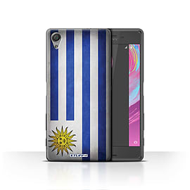 STUFF4 Case/Cover for Sony Xperia X / Uruguay/Uruguayan Design / Flags Collection Mobile phones