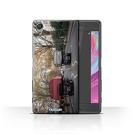 STUFF4 Case/Cover for Sony Xperia X / Packing Light Design / Imagine It Collection Mobile phones