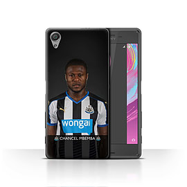 Official Newcastle United FC Case/Cover for Sony Xperia X/Mbemba Design/NUFC Football Player 15/16 Mobile phones