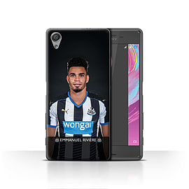Official Newcastle United FC Case/Cover for Sony Xperia X/Rivi?re Design/NUFC Football Player 15/16 Mobile phones