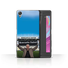 Official Newcastle United FC Case/Cover for Sony Xperia X/Welcome Design/NUFC Rafa Ben?tez Mobile phones