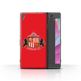 Official Sunderland AFC Case/Cover for Sony Xperia XA/Red Design/SAFC Football Club Crest Mobile phones