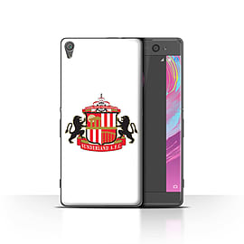 Official Sunderland AFC Case/Cover for Sony Xperia XA/White Design/SAFC Football Club Crest Mobile phones