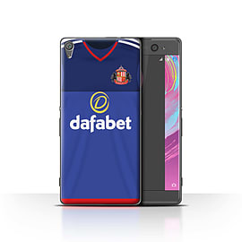 Official Sunderland AFC Case/Cover for Sony Xperia XA/Goalkeeper Design/SAFC Home Shirt/Kit 15/16 Mobile phones