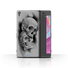 STUFF4 Case/Cover for Sony Xperia XA / Mist/Fog Design / Skull Art Sketch Collection Mobile phones