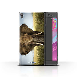 STUFF4 Case/Cover for Sony Xperia XA / Elephant Design / Wildlife Animals Collection Mobile phones