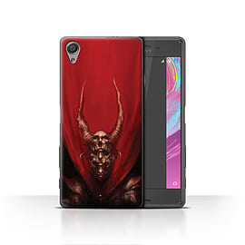 Official Chris Cold Case/Cover for Sony Xperia X / Red Duke Design / Dark Art Demon Collection Mobile phones