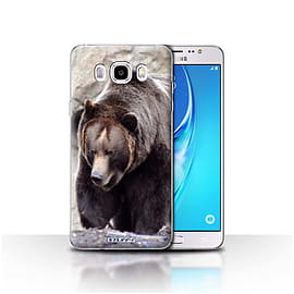 STUFF4 Case/Cover for Samsung Galaxy J5 2016 / Bear Design / Wildlife Animals Collection Mobile phones