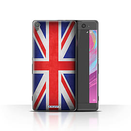 STUFF4 Case/Cover for Sony Xperia XA / Great Britain/British Design / Flags Collection Mobile phones