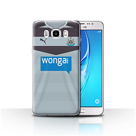 Official NUFC Case/Cover for Samsung Galaxy J5 2016/Goalkeeper Design/NUFC Away Shirt/Kit 15/16 Mobile phones