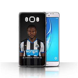 Newcastle United FC Case/Cover for Samsung Galaxy J5 2016/Mbemba Design/NUFC Football Player 15/16 Mobile phones