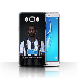 Newcastle United FC Case/Cover for Samsung Galaxy J5 2016/Sissoko Design/NUFC Football Player 15/16 Mobile phones