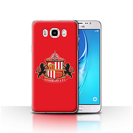 Official Sunderland AFC Case/Cover for Samsung Galaxy J5 2016/Red Design/SAFC Football Club Crest Mobile phones