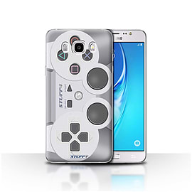 STUFF4 Case/Cover for Samsung Galaxy J5 2016 / Playstation PS1 Design / Games Console Collection Mobile phones