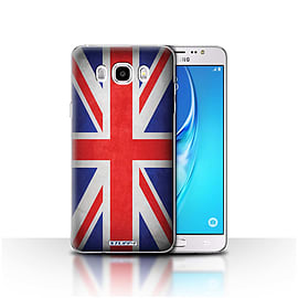 STUFF4 Case/Cover for Samsung Galaxy J5 2016 / Great Britain/British Design / Flags Collection Mobile phones