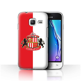 Sunderland AFC Case/Cover for Samsung Galaxy J1 Nxt/Mini/Red/White Design/SAFC Football Club Crest Mobile phones