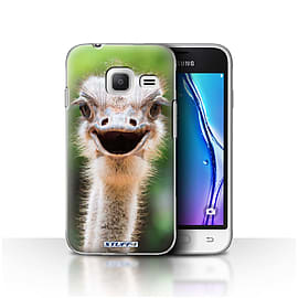 STUFF4 Case/Cover for Samsung Galaxy J1 Nxt/Mini / Ostrich/Emu Design / Wildlife Animals Collection Mobile phones