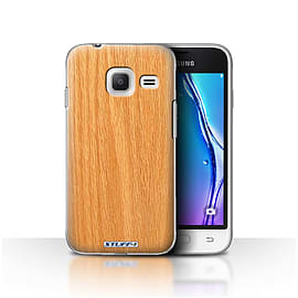 STUFF4 Case/Cover for Samsung Galaxy J1 Nxt/Mini/Pine Design/Wood Grain Effect/Pattern Mobile phones