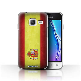 STUFF4 Case/Cover for Samsung Galaxy J1 Nxt/Mini / Spain/Spanish Design / Flags Collection Mobile phones