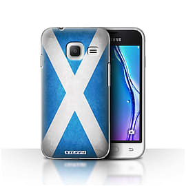STUFF4 Case/Cover for Samsung Galaxy J1 Nxt/Mini / Scotland/Scottish Design / Flags Collection Mobile phones