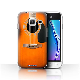 STUFF4 Case/Cover for Samsung Galaxy J1 Nxt/Mini / Sunburst Acoustic Design / Guitar Collection Mobile phones