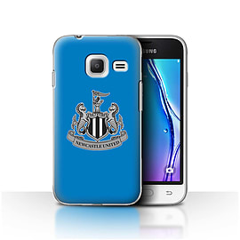 Newcastle United FC Case/Cover for Samsung Galaxy J1 Nxt/Mini/Mono/Blue Design/NUFC Football Crest Mobile phones