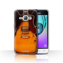 STUFF4 Case/Cover for Samsung Galaxy J1 2016 / Semi Acoustic Design / Guitar Collection Mobile phones