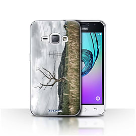 STUFF4 Case/Cover for Samsung Galaxy J1 2016 / Electric Tree Design / Imagine It Collection Mobile phones