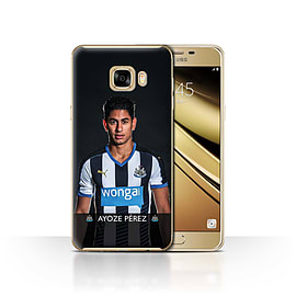 Newcastle United FC Case/Cover for Samsung Galaxy C7/Ayoze Design/NUFC Football Player 15/16 Mobile phones