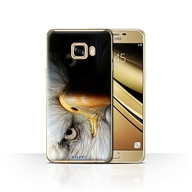 STUFF4 Case/Cover for Samsung Galaxy C7 / Eagle/Bird of Prey Design / Wildlife Animals Collection Mobile phones