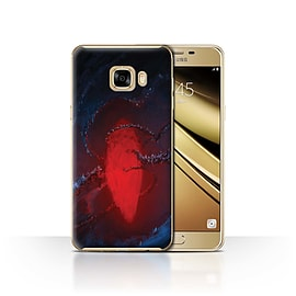 Official Chris Cold Case/Cover for Samsung Galaxy C7/Freezing Design/Alien World Cosmos Mobile phones