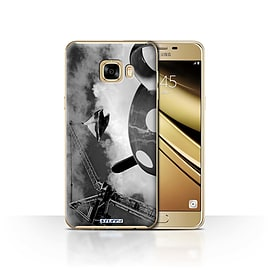 STUFF4 Case/Cover for Samsung Galaxy C7 / Fancy a Cuppa Design / Imagine It Collection Mobile phones