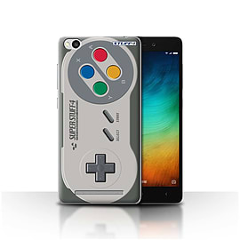 STUFF4 Case/Cover for Xiaomi Redmi 3 / Super Nintendo Design / Games Console Collection Mobile phones