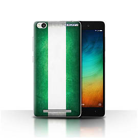STUFF4 Case/Cover for Xiaomi Redmi 3 / Nigeria/Nigerian Design / Flags Collection Mobile phones
