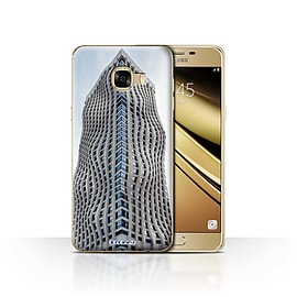STUFF4 Case/Cover for Samsung Galaxy C5 / Booming Business Design / Imagine It Collection Mobile phones
