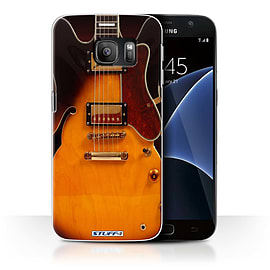 STUFF4 Case/Cover for Samsung Galaxy S7/G930 / Semi Acoustic Design / Guitar Collection Mobile phones